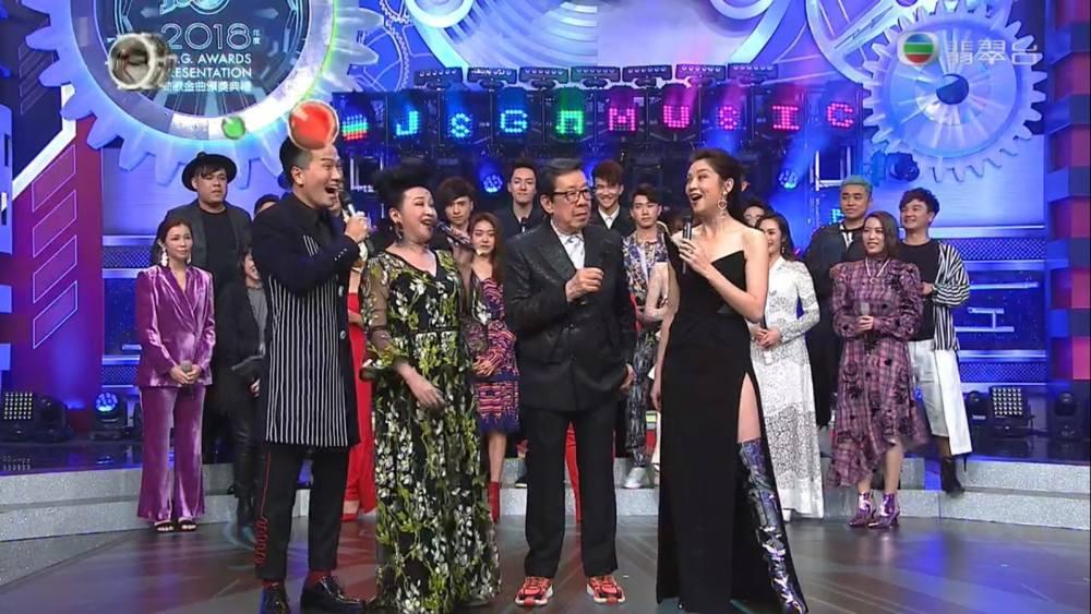 2018香港乐坛四大颁奖典礼