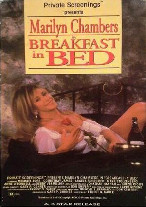床上的早餐